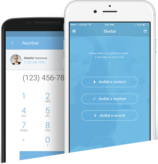 Ringless Voicemail Messaging App : Slydial